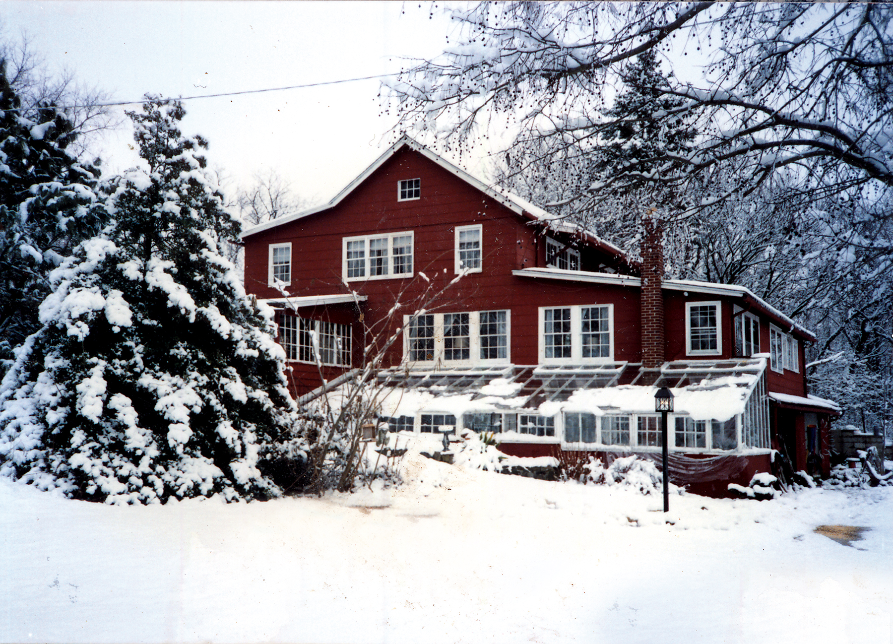 Picture of The Barn in Winter
